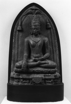 Seated Crowned Buddha