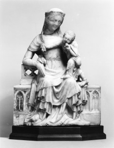Virgin and Child with a Bird