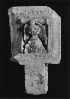 Corbel with an Eagle Perched on a Mountain