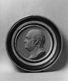 Portrait Medallion of Benjamin Franklin