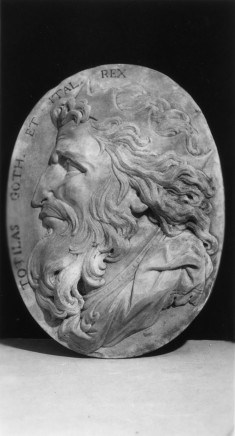 Medallion of Totila, Ostrogoth King of Southern Italy