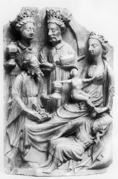 Panel from an Altarpiece with the Visit of the Magi