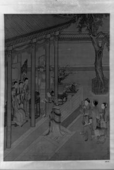 Yang Kuei Fei Offering Wine to the Emperor