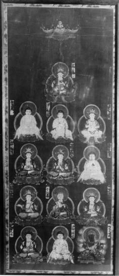 Thirteen Buddhist Deities