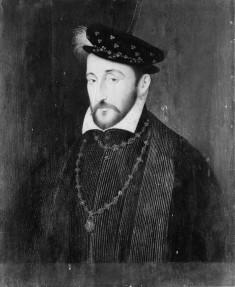 Bust-portrait of Henri II, King of France
