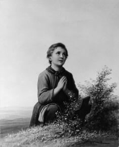 Boy In Prayer