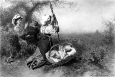 Italian Peasants near Rome