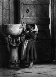 Italian Peasant Girl Dipping Hand Etc