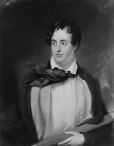 Portrait of Lord George Gordon Byron [6th Baron] 1788-1824