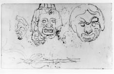 Classical masks (a)