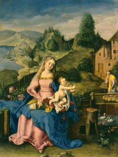 Virgin and Child in a Landscape