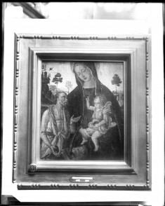 Madonna and Child with St Jerome