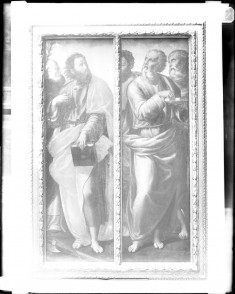 St. Dominic and St. Matthias; St. Paul, St. John the Evangelist and St. Jerome