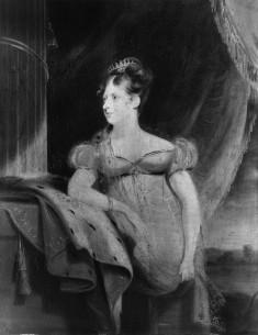 Portrait of H. R. H. Charlotte Caroline Augusta (1796-1817)