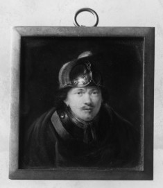 Copy after a Self-Portrait by Rembrandt in the Louvre