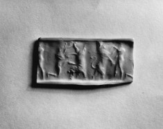 Cylinder Seal with a Contest Scene
