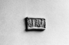 Cylinder Seal with Standing Figures