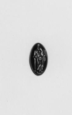 Intaglio with a Woman Holding a Mask