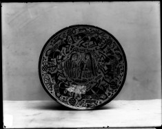 Bowl with Seated Figures and Horsemen
