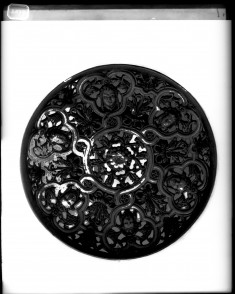 Ornamental Dish with Mask Decoration