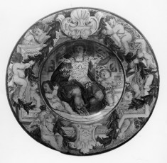 Plate with an Allegory of Majesty