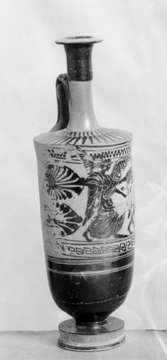 Lekythos with Hermes and Iris