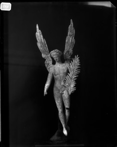 Figurine of Winged Eros with Palm Branch in Hand
