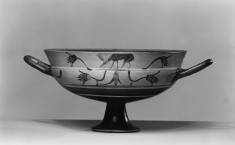 Kylix with Double Registers of Animals