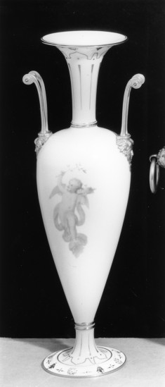 One of a Pair of Vases