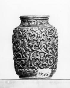 Snuff Bottle with Floral Scrolls