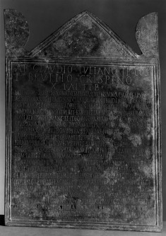 Tablet with Inscription Honoring Ancharia Luperca