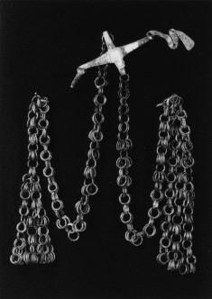 Fibula with Swastika Motif