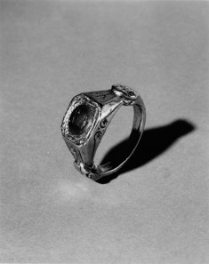 Ring with an Intaglio of Dionysus