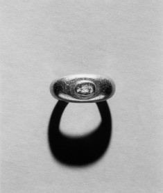 Ring Engraved with a Bust of Zeus-Serapis