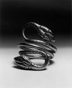 Double-Headed Snake Ring