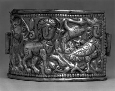 Bracelet with a Lion, a Sphinx, and a Syren