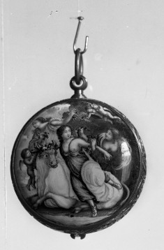 Watch with Scenes of Europa and the Bull and a Satyr and Sleeping Nymph