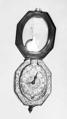 Watch with Designs of Birds and Foliage