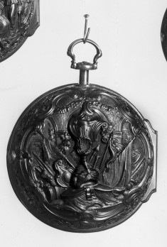 Watch in Pair Case with Military Trophy