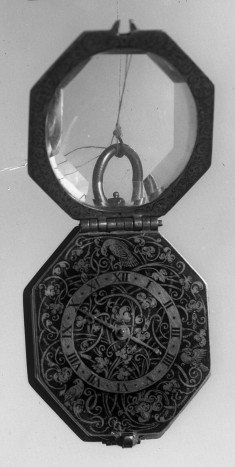 Octagonal Watch with Rock Crystal Case