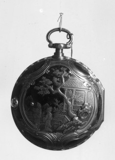 Watch with Japanese Motifs