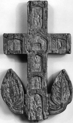 Altar Cross with Scenes from Christ's Life
