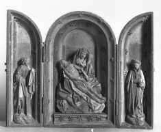 Pieta with the Virigin and Saints John the Evangelist and Mary Magdalen