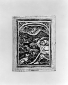 Plaque with the Annunciation to the Shepherds
