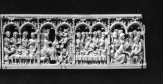 Scenes of the Wedding at Canaa, Entry into Jerusalem, Last Supper, Washing of the Feet