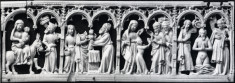 Scenes of Flight into Egypt, Presentation in the Temple, Christ among the Doctors, and Baptism of Christ