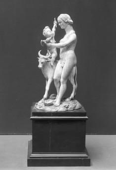 VENUS, CUPID AND A BULL