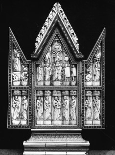 Triptych with the Crucifixion and Other Scenes
