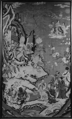 Lao tzu and attendant figures