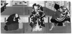 Three Part Print: Sugawara buyuden